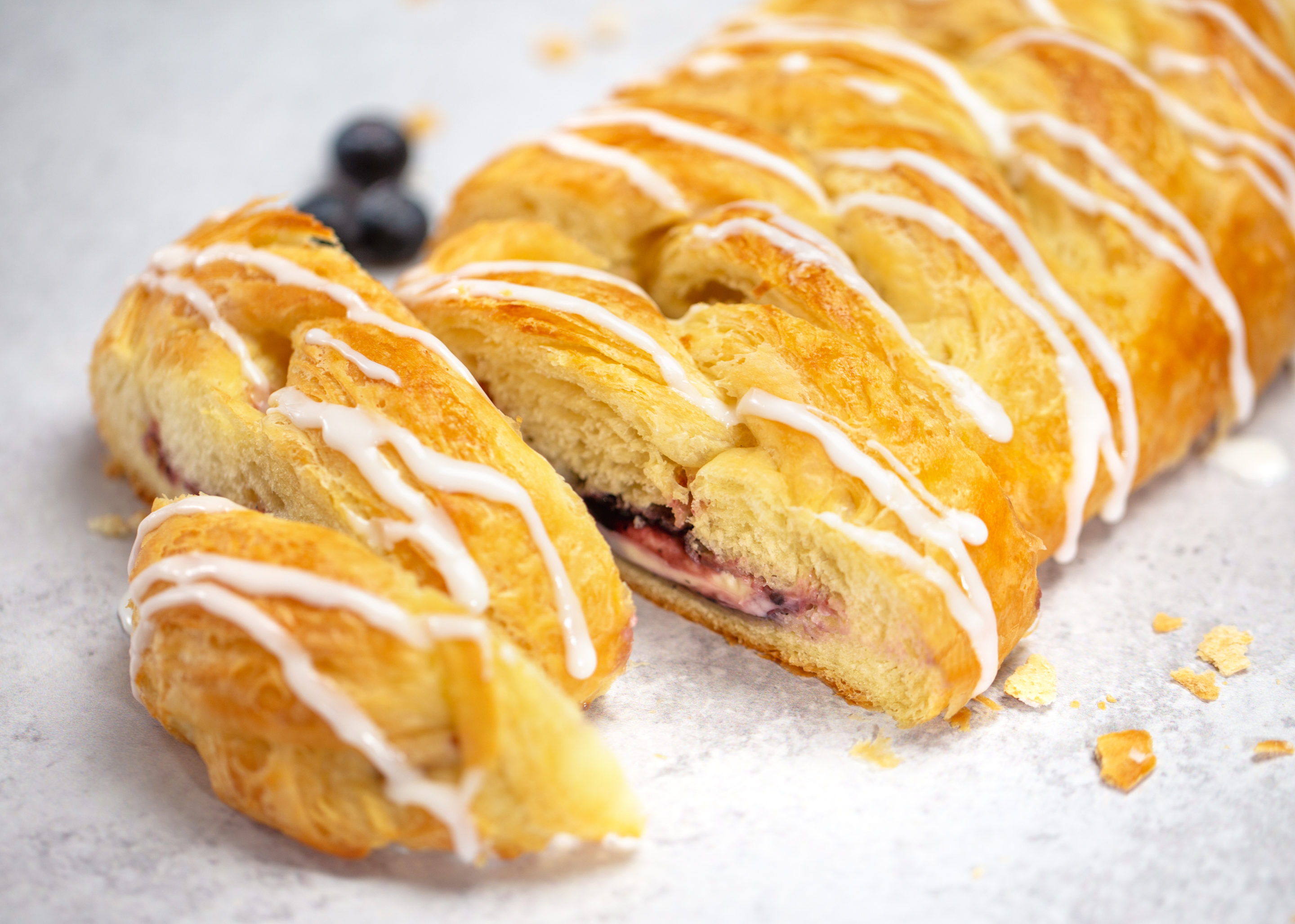 fundraising butter braid pastries